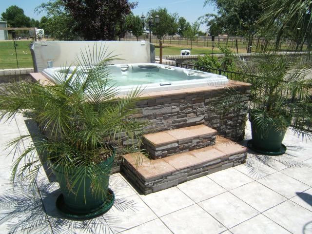 Hot Tub Surrounds & Spa Surrounds by The Yard Company - Home