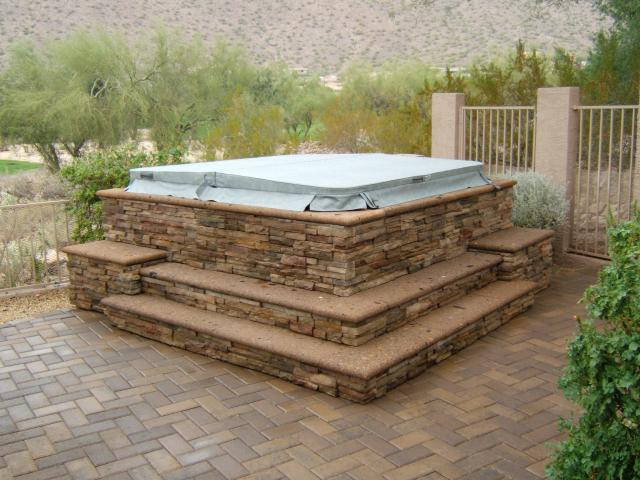 Backyard Hot Tub Ideas backyard hot tub designs 25 Best Ideas About Hot Tubs Landscaping On Pinterest Hot Tubs Hot Tub Deck And Jacuzzi Outdoor